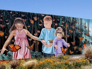 Monarch Magic Mural Lompoc
