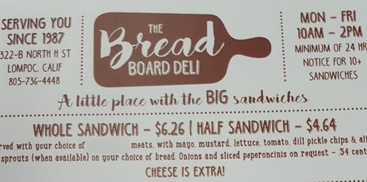 The Bread Board Deli