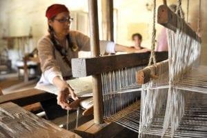 La Purisima Mission Weaving