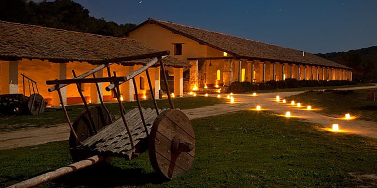 Candlelight Tour - La Purisima Mission State Park
