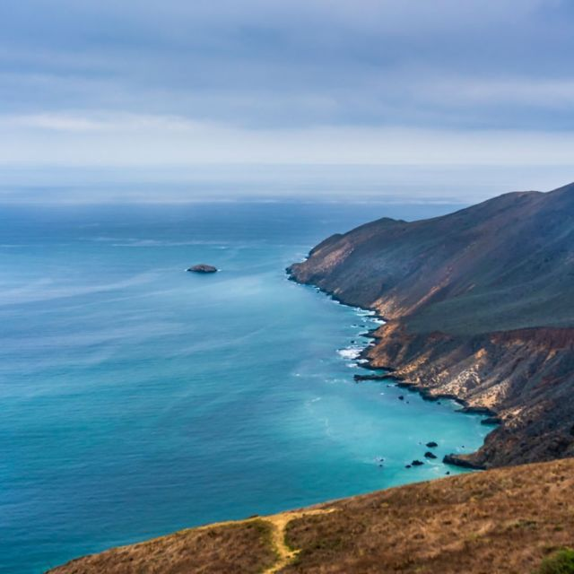Trail to Point Sal in Santa Barbara County outside Guadalupe, CA, a 10 mile hike round trip.